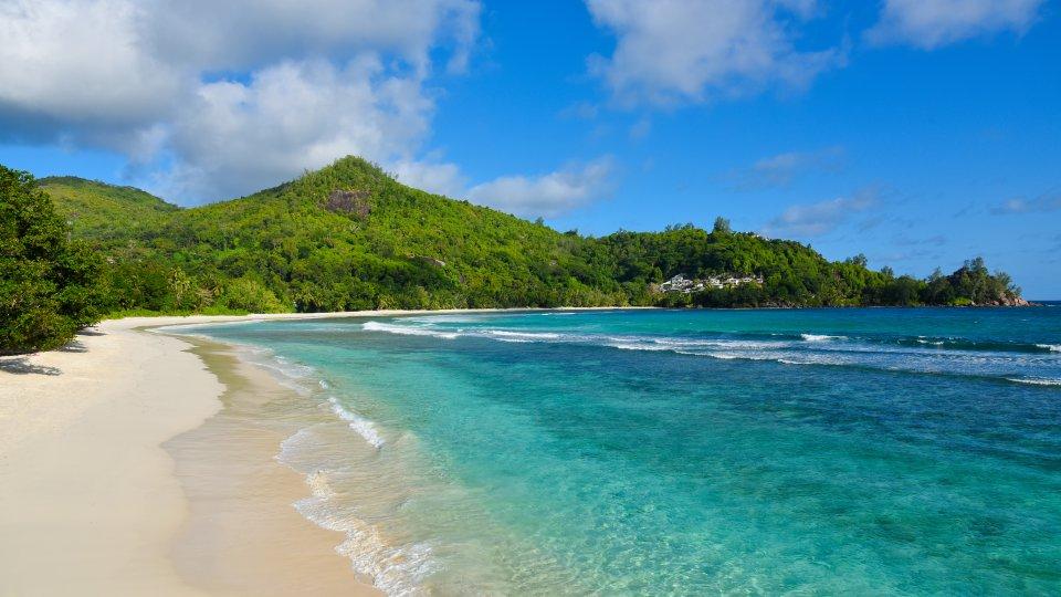 Seychellen Malediven Karte.Strand Baie Lazare Mahé Seychellen