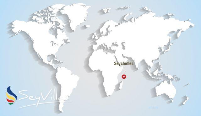 Cartina Mondo Emerso.Geografia Delle Seychelles Mappa Delle Seychelles Posizione Delle Seychelles Guida Alle Seychelles