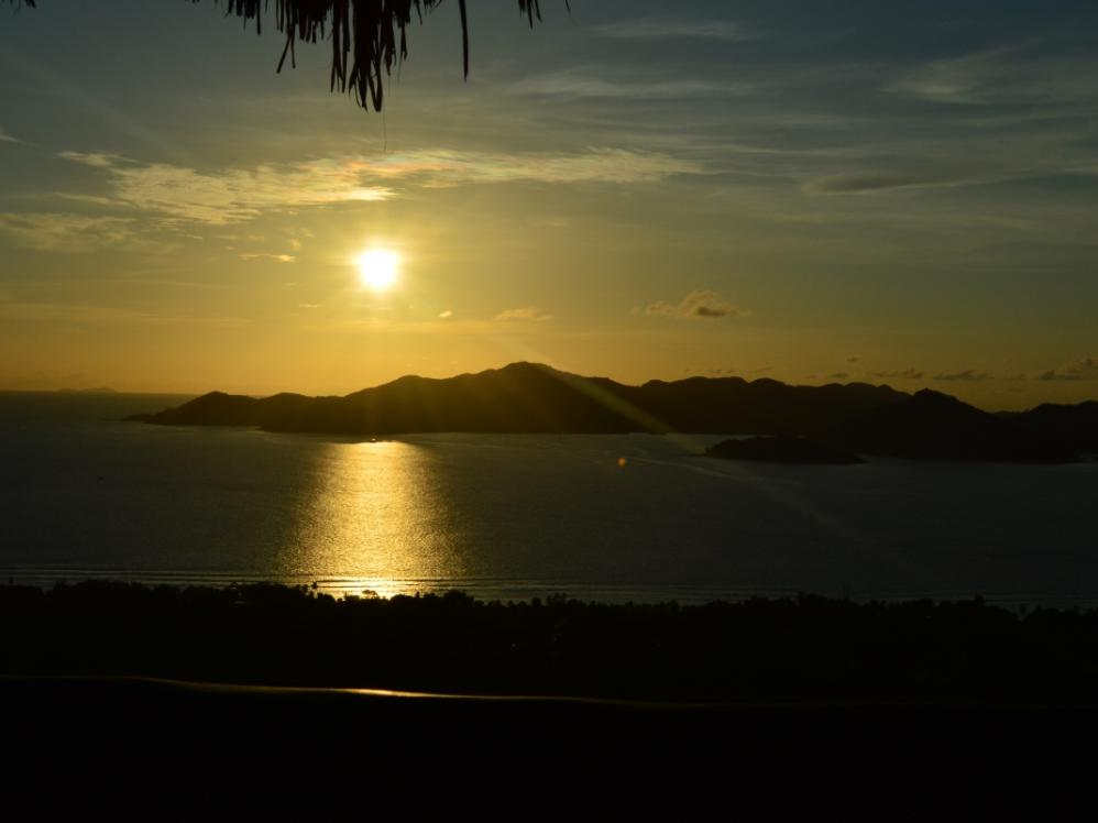 LaDigue, Cafeteria Belle Vue - Sunset
