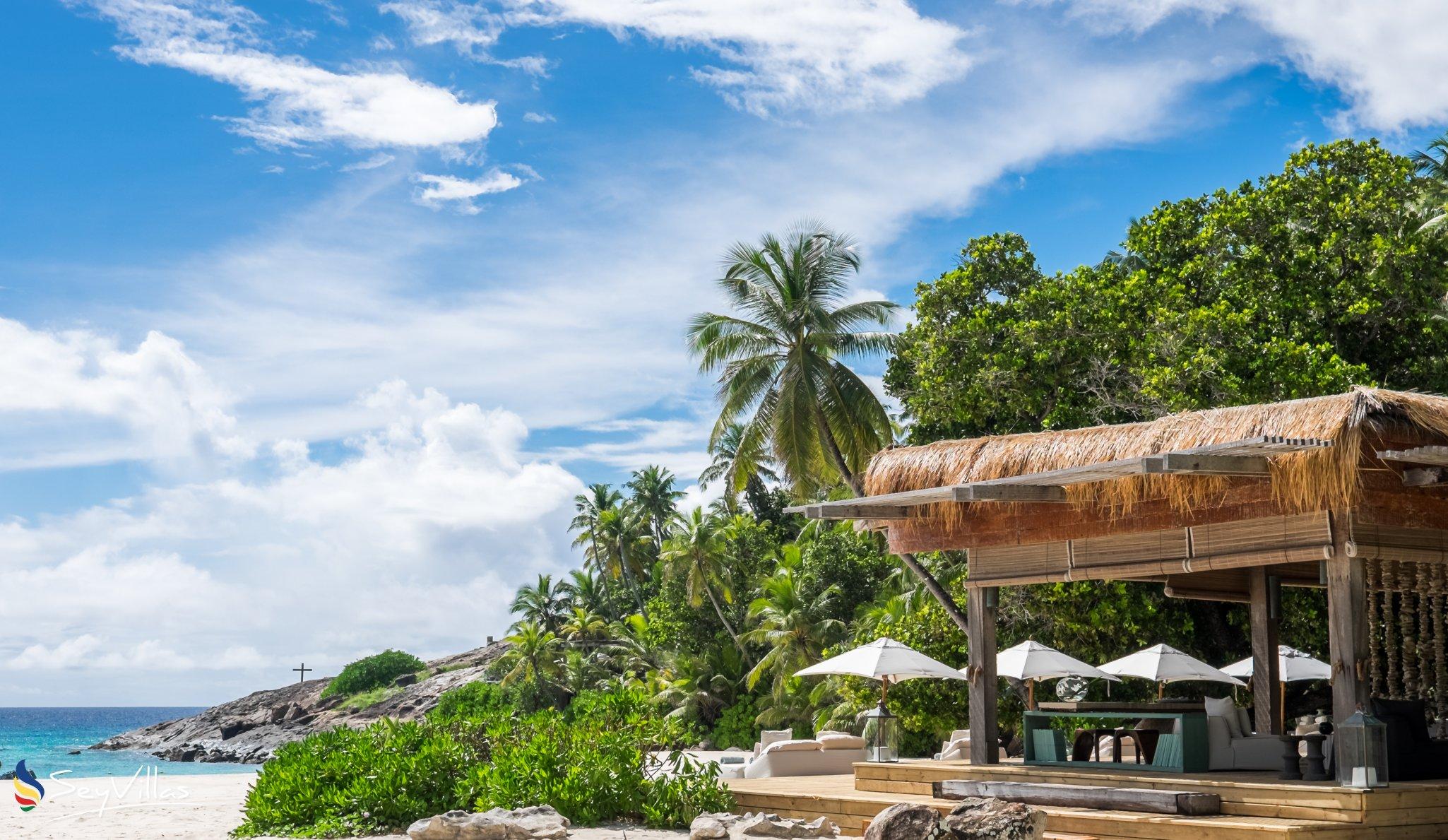 resort north island lodge auf north island seychellen. Black Bedroom Furniture Sets. Home Design Ideas