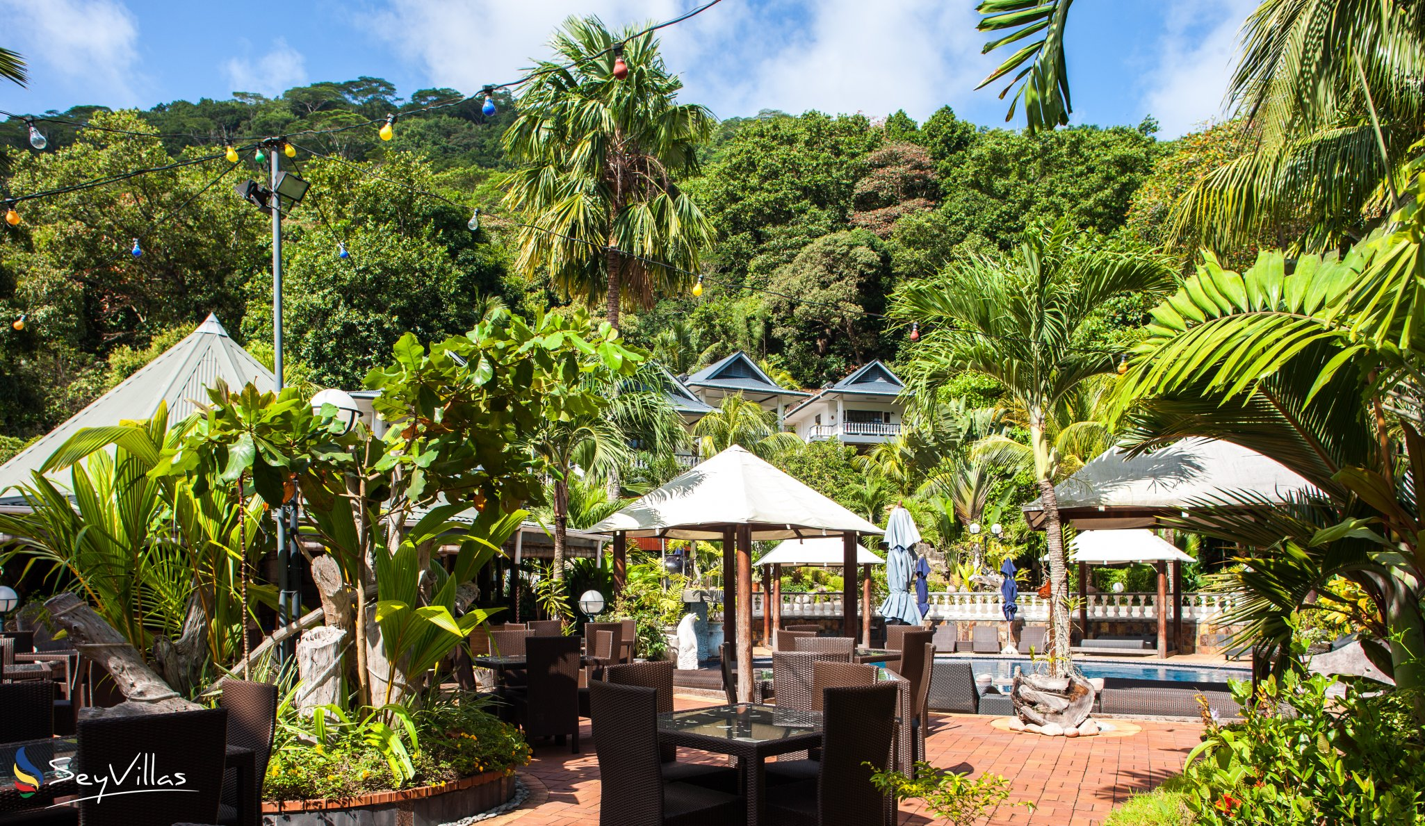 Hotel Chateau St Cloud Seychellen