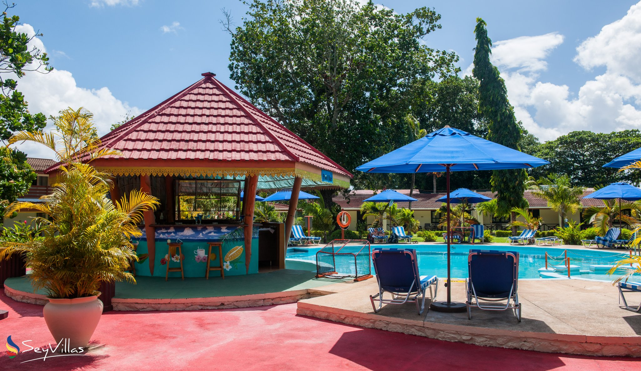 Hotel Berjaya Resort Praslin Beach Auf Praslin